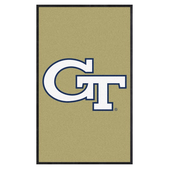 Picture of Georgia Tech 3X5 High-Traffic Mat with Durable Rubber Backing