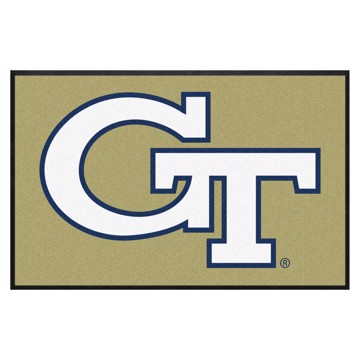 Picture of Georgia Tech 4X6 High-Traffic Mat with Durable Rubber Backing