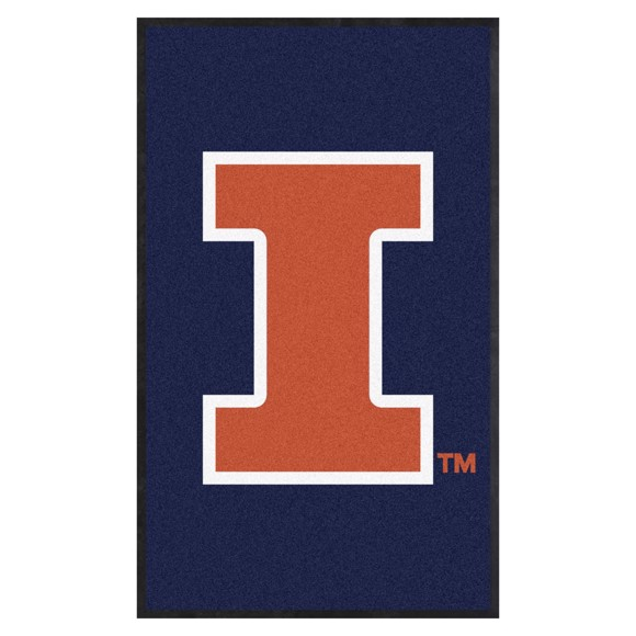 Picture of Illinois 3X5 High-Traffic Mat with Durable Rubber Backing