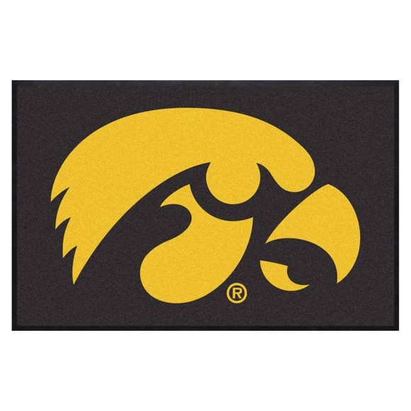 Picture of Iowa4X6 High-Traffic Mat with Durable Rubber Backing