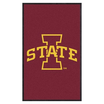 Picture of Iowa State 3X5 High-Traffic Mat with Durable Rubber Backing