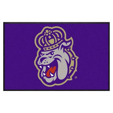 Picture of James Madison 4X6 High-Traffic Mat with Durable Rubber Backing