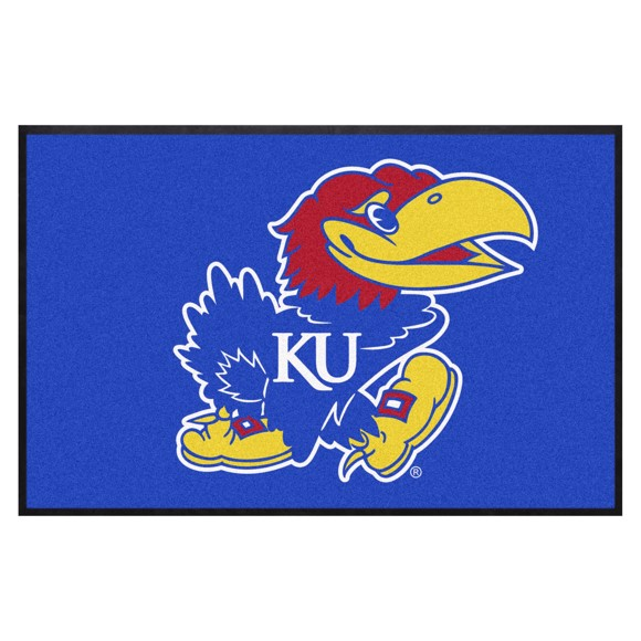 Picture of Kansas4X6 High-Traffic Mat with Durable Rubber Backing