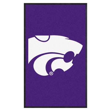Picture of Kansas State 3X5 High-Traffic Mat with Durable Rubber Backing