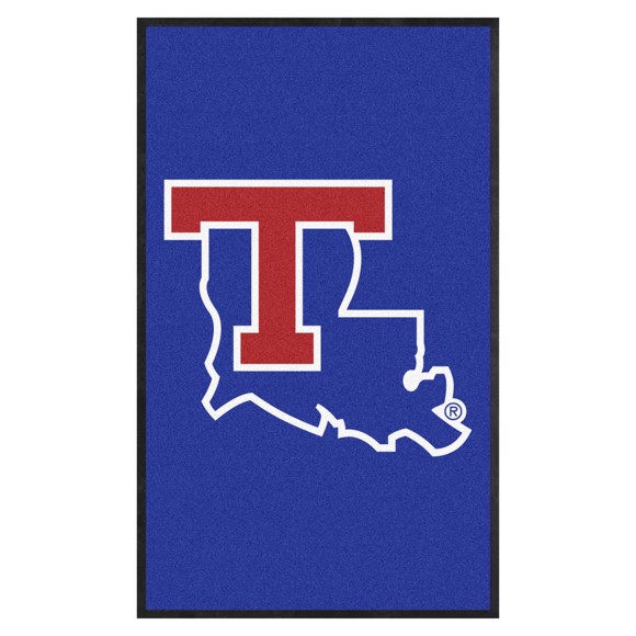 Picture of Louisiana Tech 3X5 High-Traffic Mat with Durable Rubber Backing