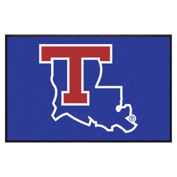 Picture of Louisiana Tech 4X6 High-Traffic Mat with Durable Rubber Backing