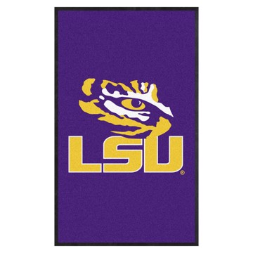Picture of LSU 3X5 High-Traffic Mat with Durable Rubber Backing
