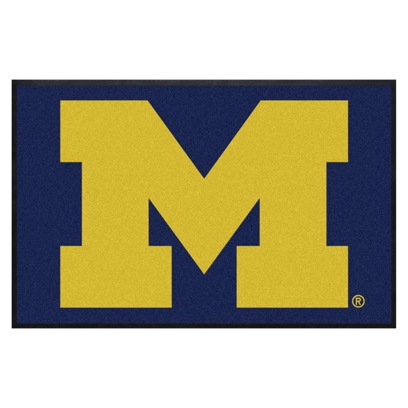 Picture of Michigan 4X6 High-Traffic Mat with Durable Rubber Backing