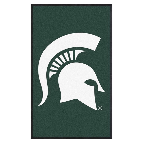 Picture of Michigan State 3X5 High-Traffic Mat with Durable Rubber Backing