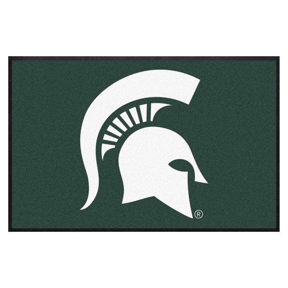 Picture of Michigan State 4X6 High-Traffic Mat with Durable Rubber Backing