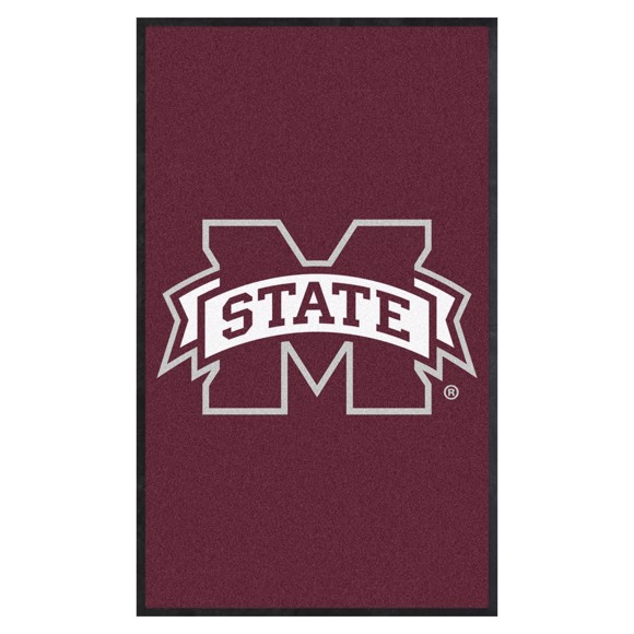 Picture of Mississippi State 3X5 High-Traffic Mat with Durable Rubber Backing