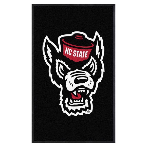 Picture of NC State 3X5 High-Traffic Mat with Durable Rubber Backing