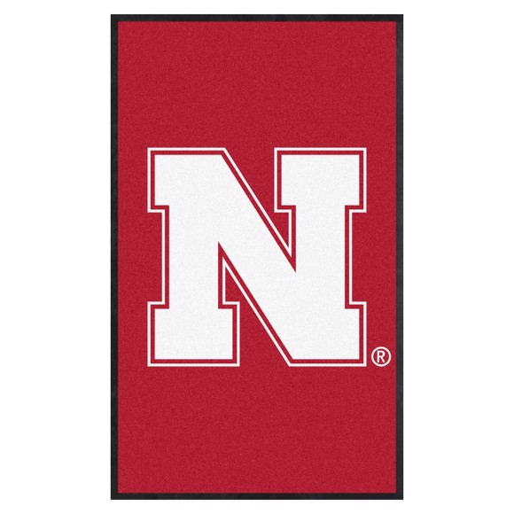 Picture of Nebraska 3X5 High-Traffic Mat with Durable Rubber Backing