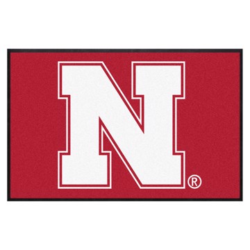 Picture of Nebraska 4X6 High-Traffic Mat with Durable Rubber Backing