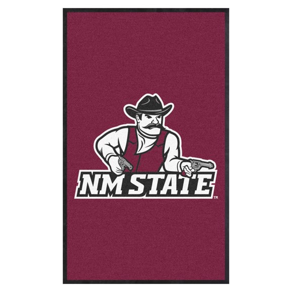 Picture of New Mexico State 3X5 High-Traffic Mat with Durable Rubber Backing