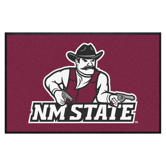 Picture of New Mexico State4X6 High-Traffic Mat with Durable Rubber Backing