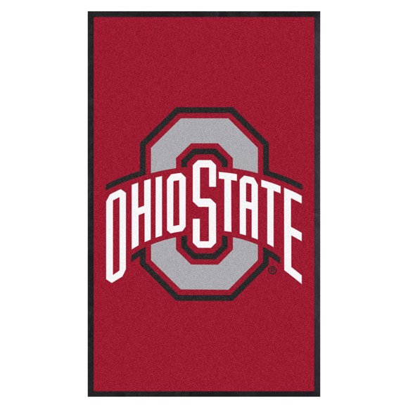 Picture of Ohio State 3X5 High-Traffic Mat with Durable Rubber Backing