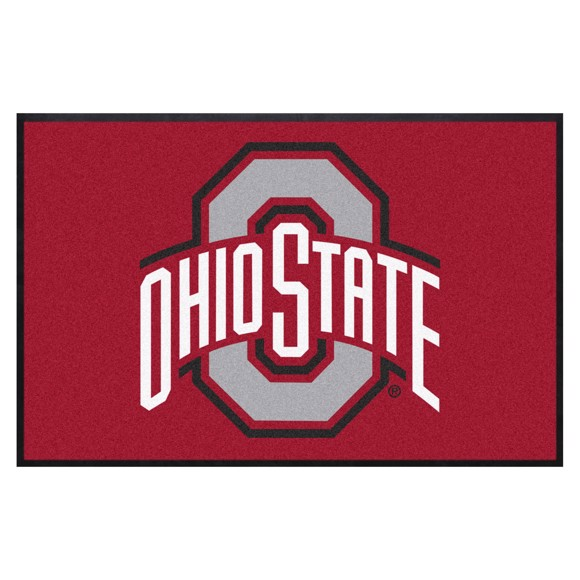 Picture of Ohio State4X6 High-Traffic Mat with Durable Rubber Backing