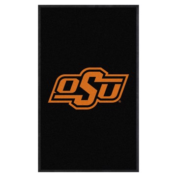 Picture of Oklahoma State 3X5 High-Traffic Mat with Durable Rubber Backing