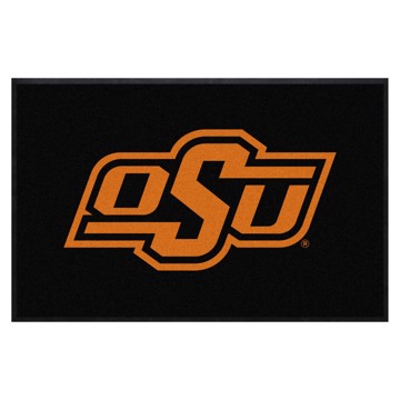 Picture of Oklahoma State 4X6 High-Traffic Mat with Durable Rubber Backing