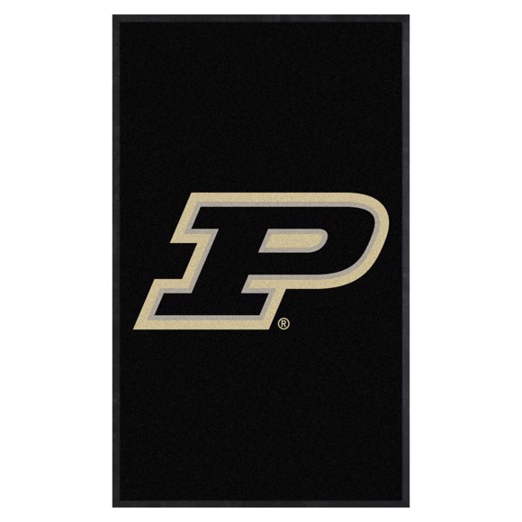 Picture of Purdue 3X5 High-Traffic Mat with Durable Rubber Backing