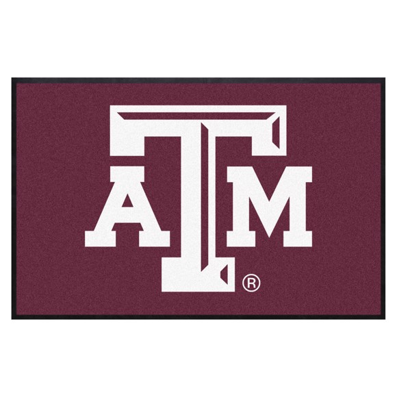 Picture of Texas A&M 4X6 High-Traffic Mat with Durable Rubber Backing