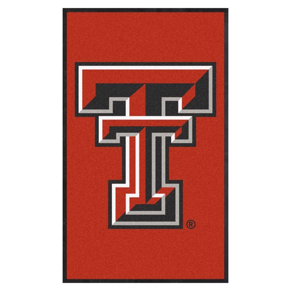 Picture of Texas Tech 3X5 High-Traffic Mat with Durable Rubber Backing
