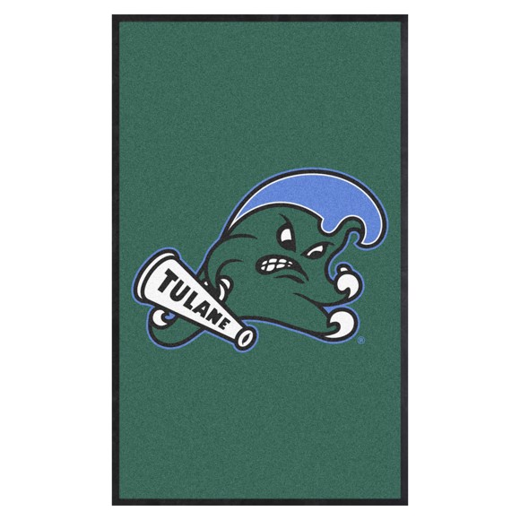 Picture of Tulane 3X5 High-Traffic Mat with Durable Rubber Backing