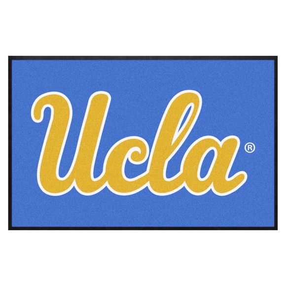 Picture of UCLA Bruins 4X6 High-Traffic Mat with Durable Rubber Backing