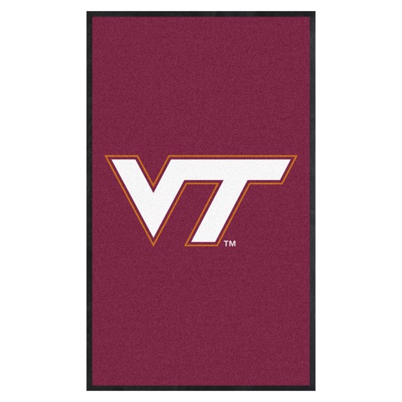 Picture of Virginia Tech 3X5 High-Traffic Mat with Durable Rubber Backing