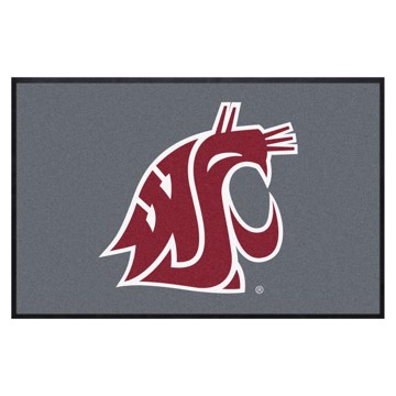 Picture of Washington State 4X6 High-Traffic Mat with Durable Rubber Backing