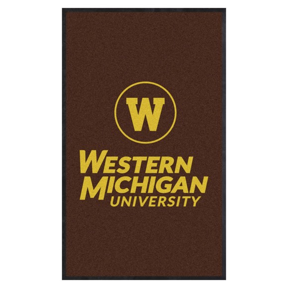 Picture of Western Michigan 3X5 High-Traffic Mat with Durable Rubber Backing