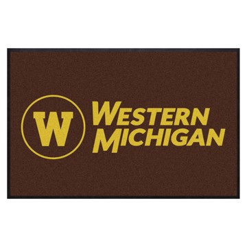 Picture of Western Michigan4X6 High-Traffic Mat with Durable Rubber Backing