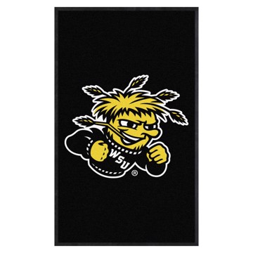 Picture of Wichita State 3X5 High-Traffic Mat with Durable Rubber Backing
