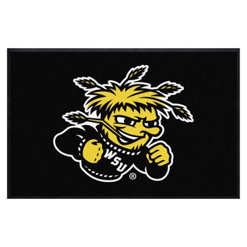 Picture of Wichita State 4X6 High-Traffic Mat with Durable Rubber Backing