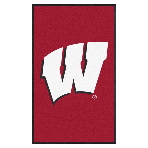 Picture of Wisconsin 3X5 High-Traffic Mat with Durable Rubber Backing