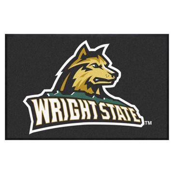 Picture of Wright State 4X6 High-Traffic Mat with Durable Rubber Backing