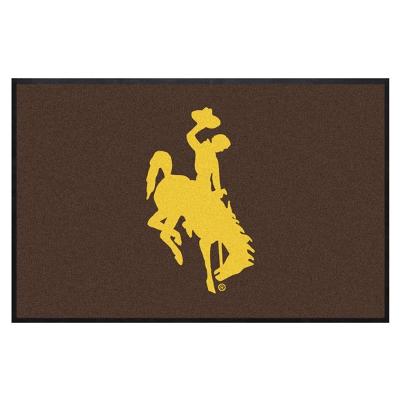 Picture of Wyoming4X6 High-Traffic Mat with Durable Rubber Backing