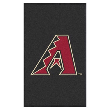 Picture of Arizona Diamondbacks 3X5 High-Traffic Mat with Durable Rubber Backing