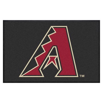 Picture of Arizona Diamondbacks 4X6 High-Traffic Mat with Durable Rubber Backing