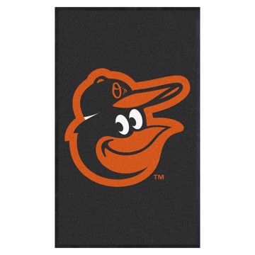 Picture of Baltimore Orioles 3X5 High-Traffic Mat with Durable Rubber Backing