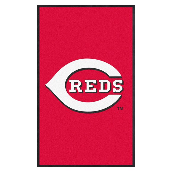 Picture of Cincinnati Reds 3X5 High-Traffic Mat with Durable Rubber Backing