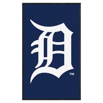 Picture of Detroit Tigers 3X5 High-Traffic Mat with Durable Rubber Backing