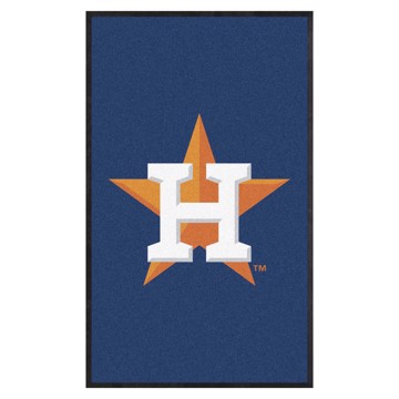 Picture of Houston Astros 3X5 High-Traffic Mat with Durable Rubber Backing