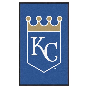 Picture of Kansas City Royals 3X5 High-Traffic Mat with Durable Rubber Backing