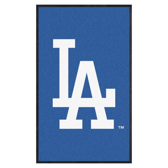 Picture of Los Angeles Dodgers 3X5 High-Traffic Mat with Durable Rubber Backing