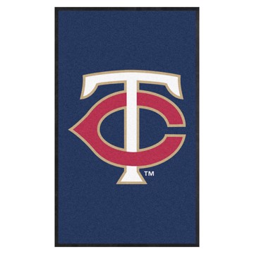 Picture of Minnesota Twins 3X5 High-Traffic Mat with Durable Rubber Backing