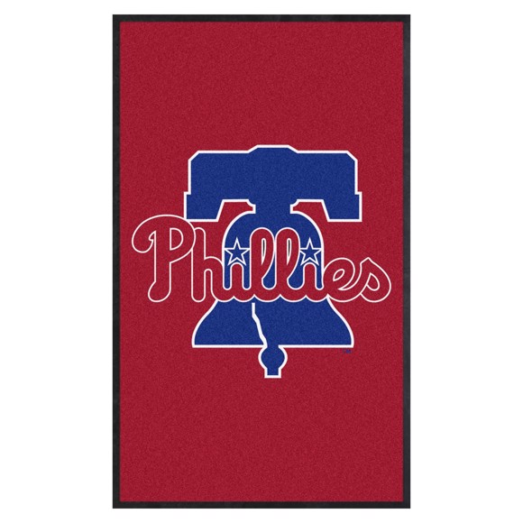 Picture of Philadelphia Phillies 3X5 High-Traffic Mat with Durable Rubber Backing
