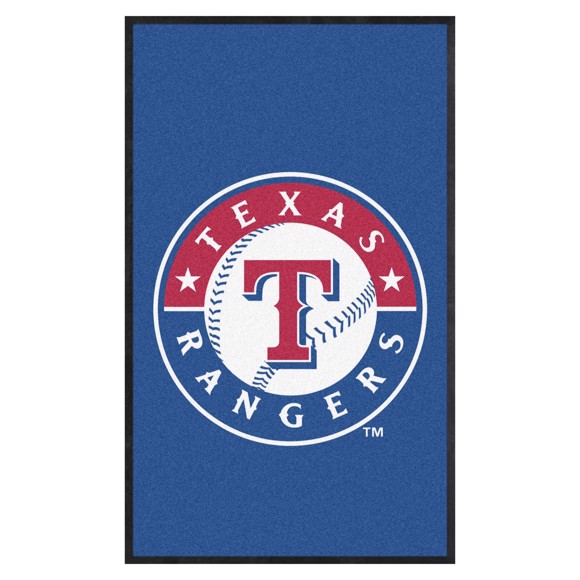 Picture of Texas Rangers 3X5 High-Traffic Mat with Durable Rubber Backing