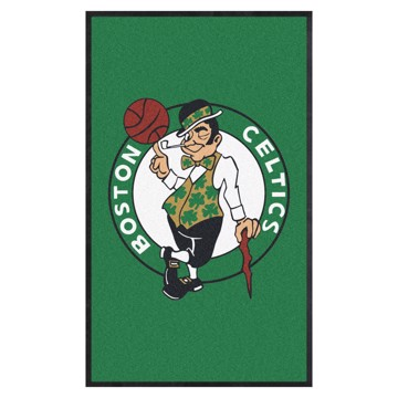 Picture of Boston Celtics 3X5 High-Traffic Mat with Durable Rubber Backing